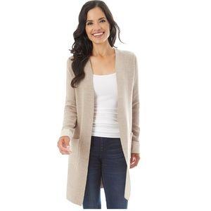 Women's APT. 9 Long Open Front Cardigan Sweater